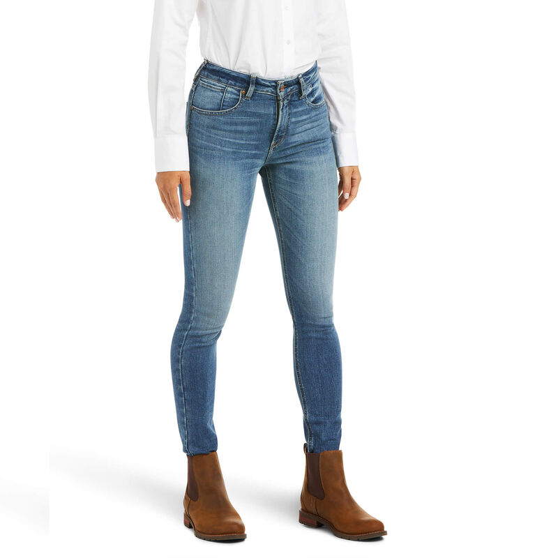 Premium High Rise Skinny Jean Stretch