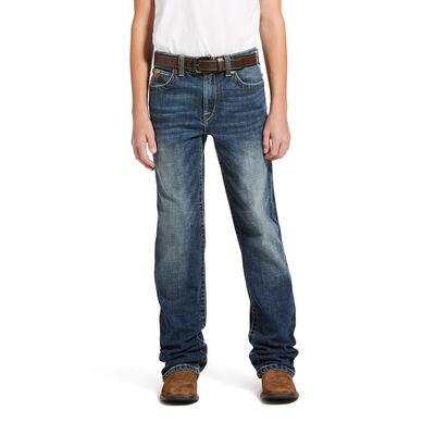 B5 Slim Stretch Leo Stackable Straight Leg Jean