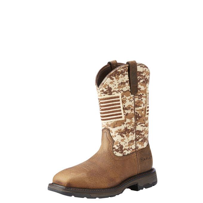 WorkHog Patriot Work Boot
