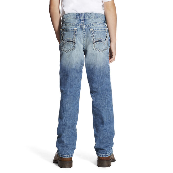 B4 Relaxed Swerve Boot Cut Jean