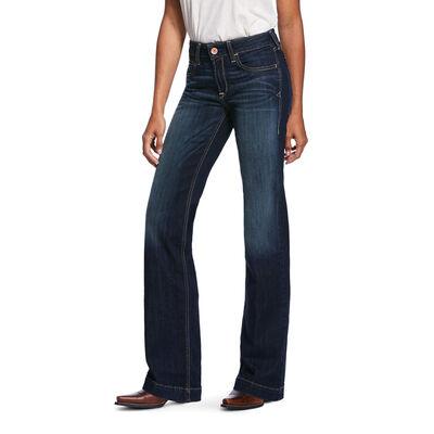 Trouser Perfect Rise Stretch Billie Wide Leg Jean