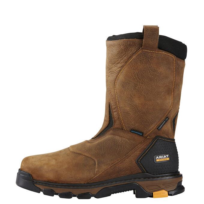 Intrepid Pull-On Waterproof Composite Toe Work Boot
