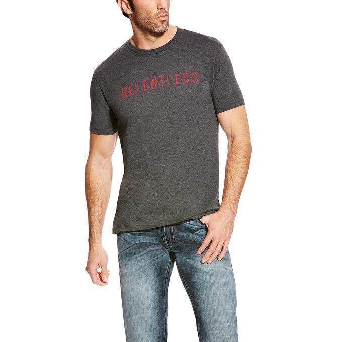 Relentless Stencil Logo Logo T-Shirt