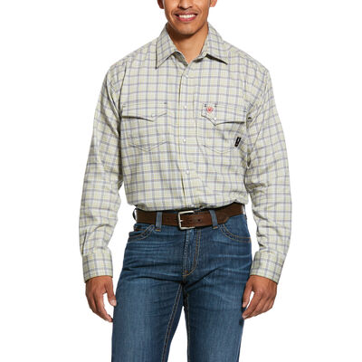 FR Whetstone Classic Fit Snap Work Shirt