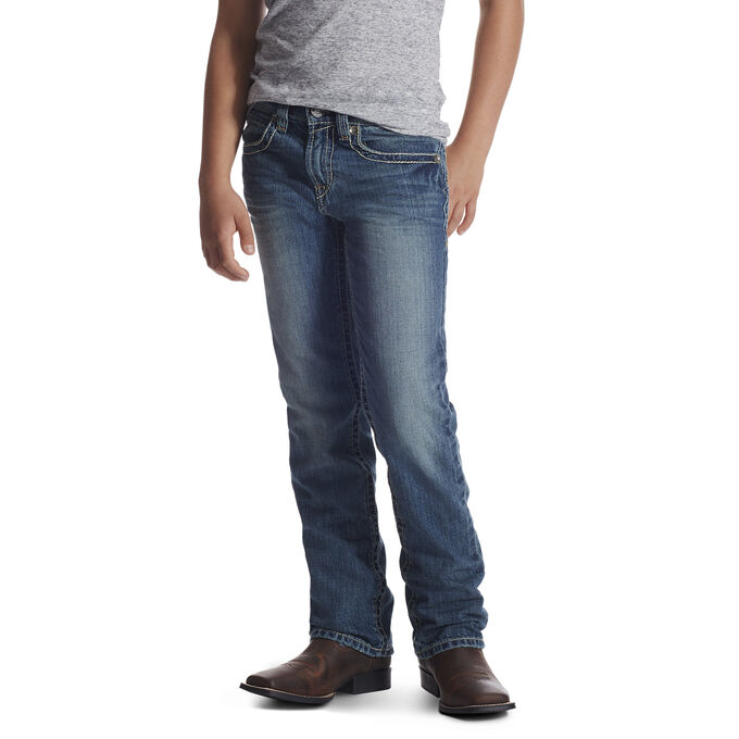 B4 Keene Boot Cut Relaxed Jean