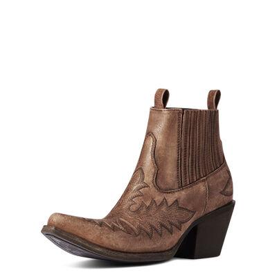 Scarlet Western Boot