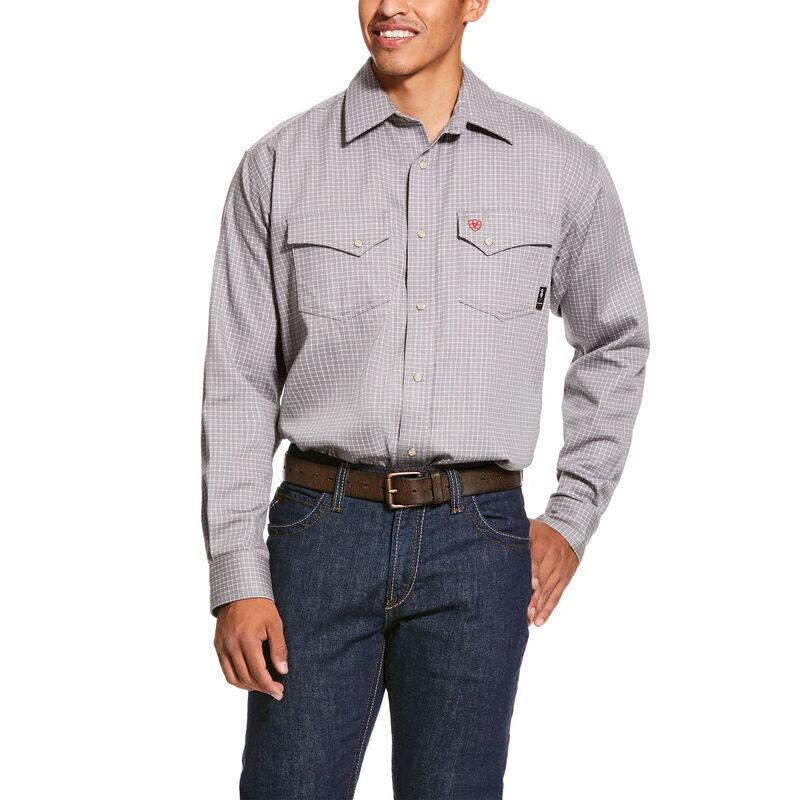 FR Petro Classic Fit Snap Work Shirt
