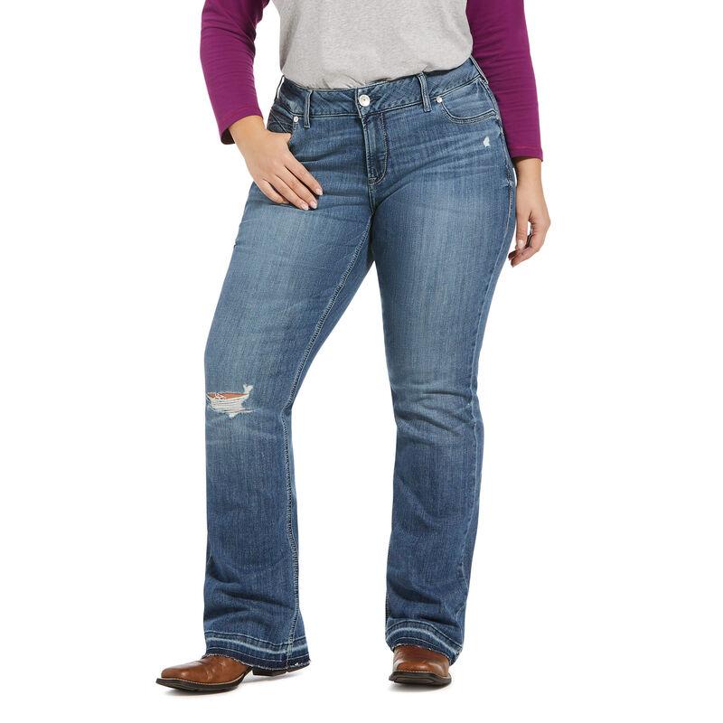 R.E.A.L. Mid Rise Stretch Melissa Boot Cut Jean