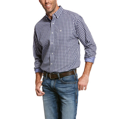 Wrinkle Free Valent Classic Fit Shirt