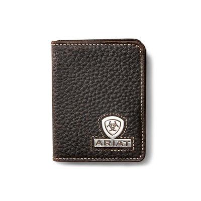 Bifold Wallet Stacked Logo