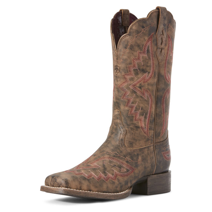 Round Up Santa Fe Western Boot
