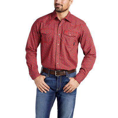 FR Lubbock Retro Fit Snap Work Shirt