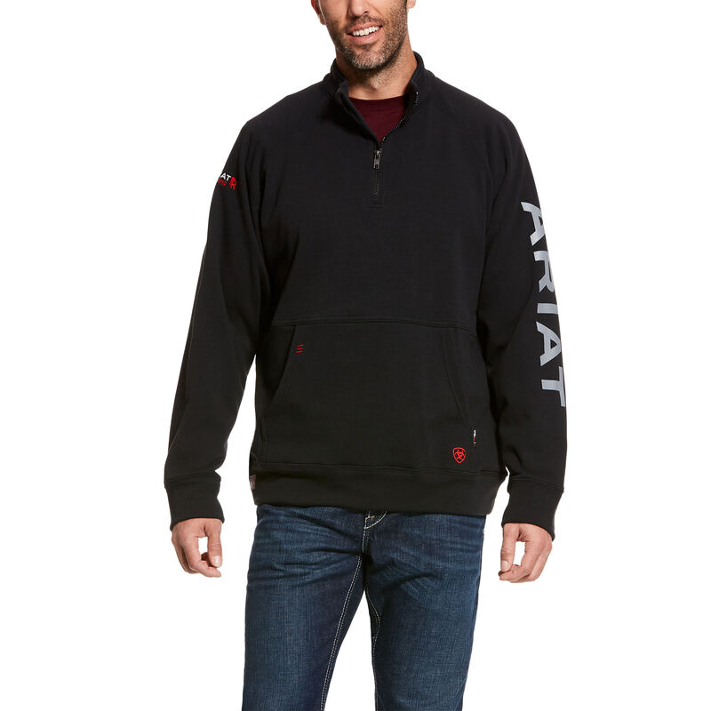 FR Primo Fleece Logo 1/4 Zip Sweater