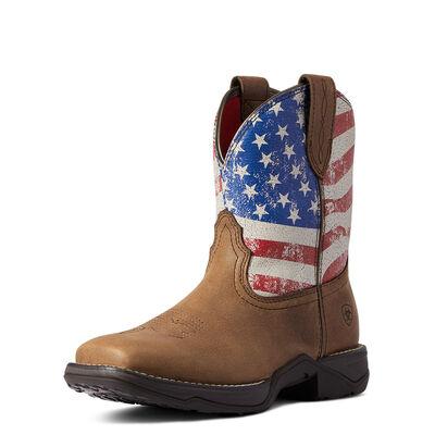 Anthem Shortie Patriot Western Boot