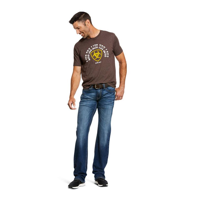 M7 Rocker Stretch Nassau Stackable Straight Leg Jean