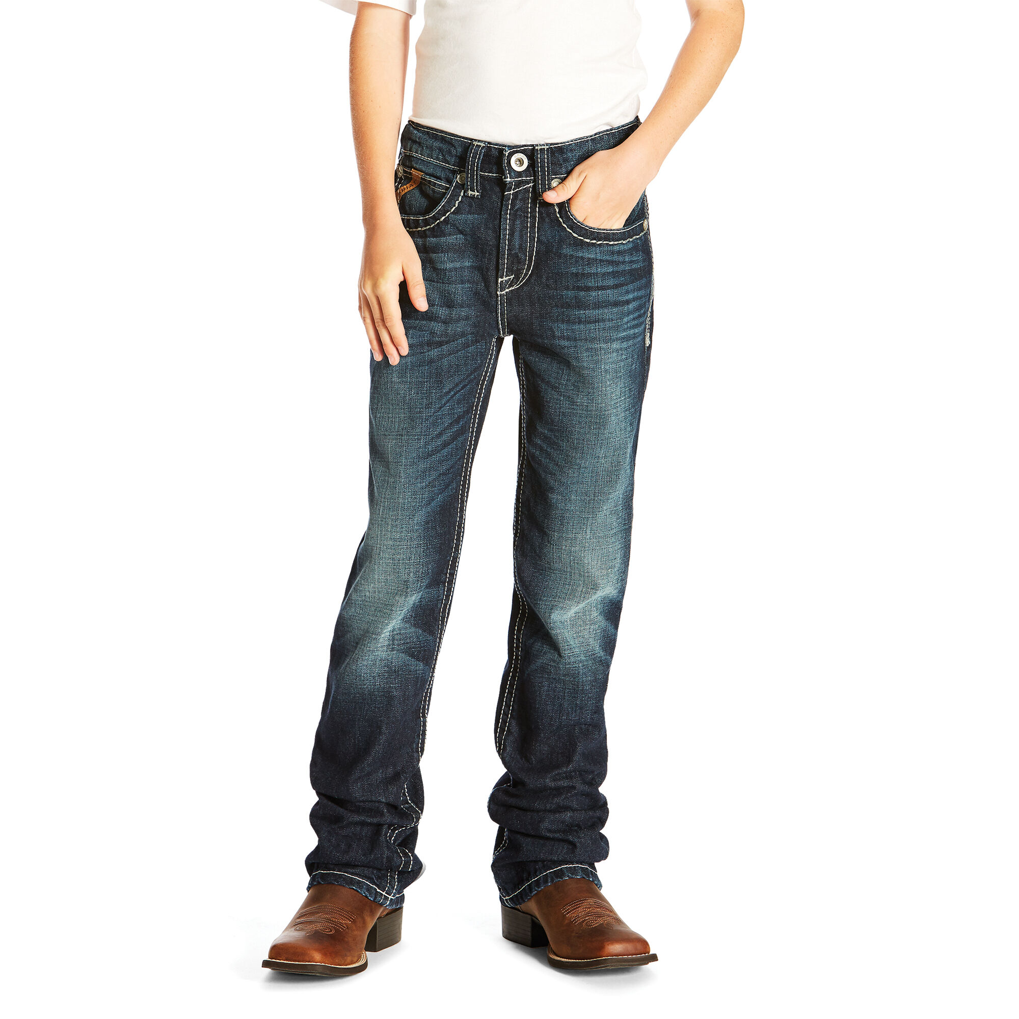 B4 Folsom Boot Cut Relaxed Jean