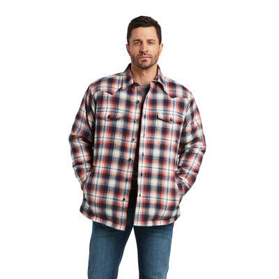 Retro Hasselhoff Insulated Shirt Jacket