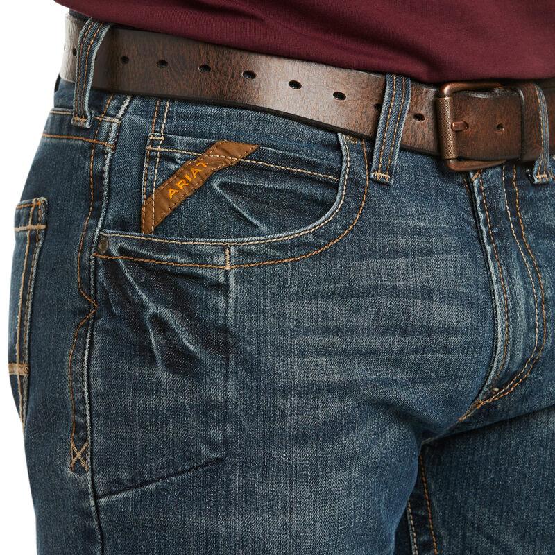 Rebar M5 Straight DuraStretch Edge Stackable Straight Leg Jean