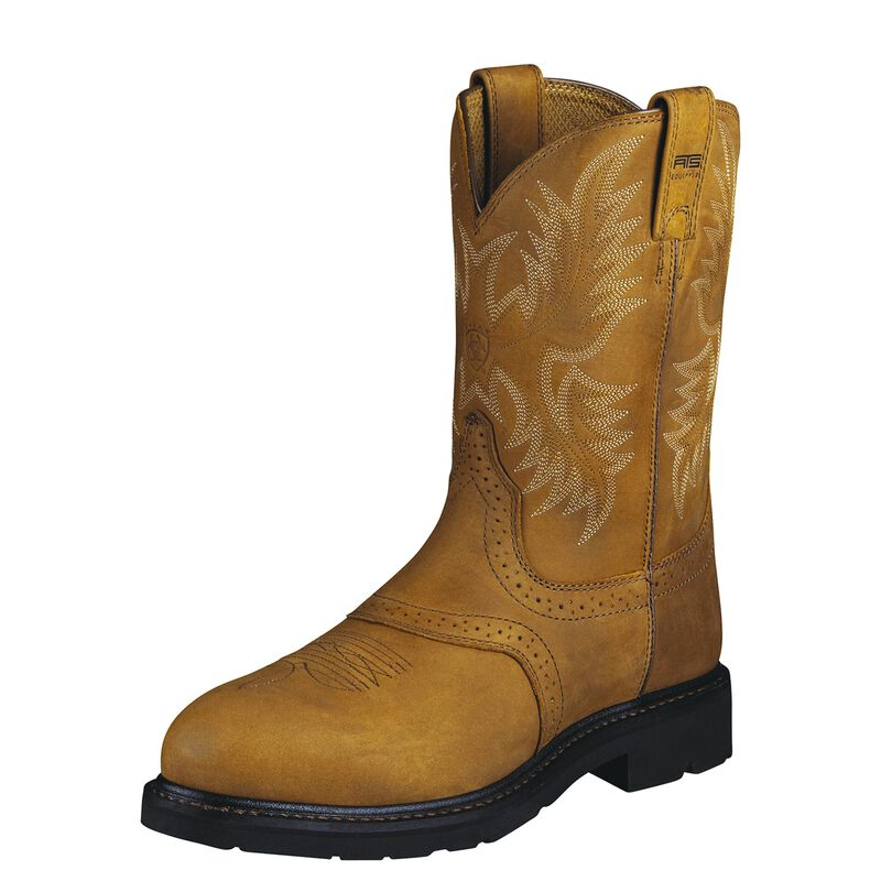 Sierra Saddle Steel Toe Work Boot