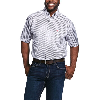 Thomaston Print Stretch Classic Fit Shirt