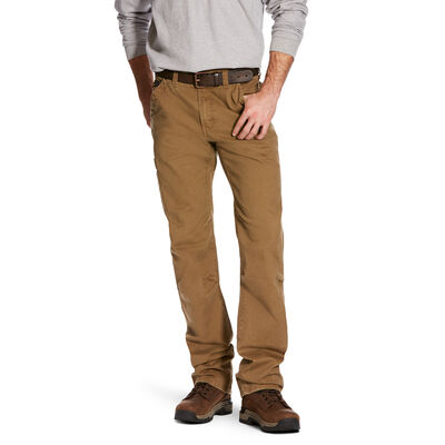 Rebar M4 Low Rise DuraStretch Washed Twill Dungaree Boot Cut Pant