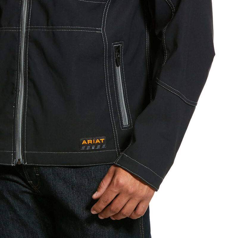 Rebar Stretch Canvas Softshell Jacket