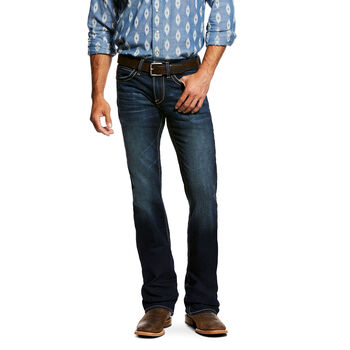 06375347 ... M7 Rocker Concord Stretch Stackable Straight Leg Jean
