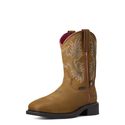 Krista MetGuard Steel Toe Work Boot