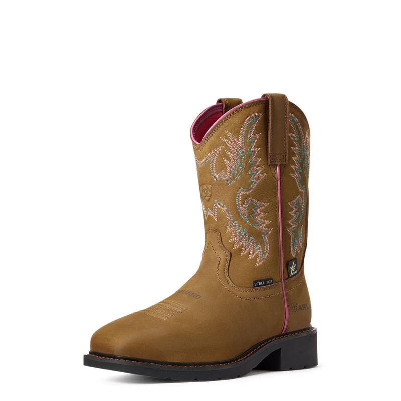 Krista MetGuard Steel Toe Work Boot