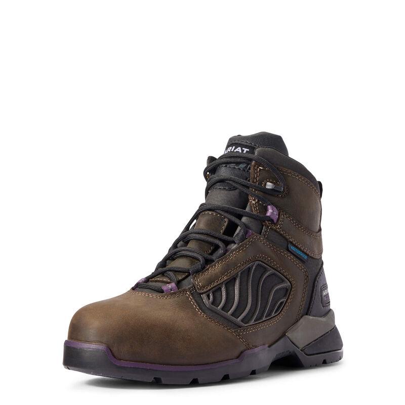 "Rebar Flex 6"" Waterproof Carbon Toe Work Boot"