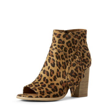 LEOPARD SUEDE
