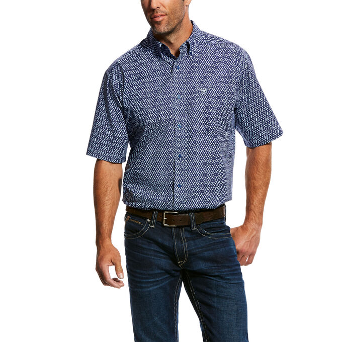 Octavio Print Shirt