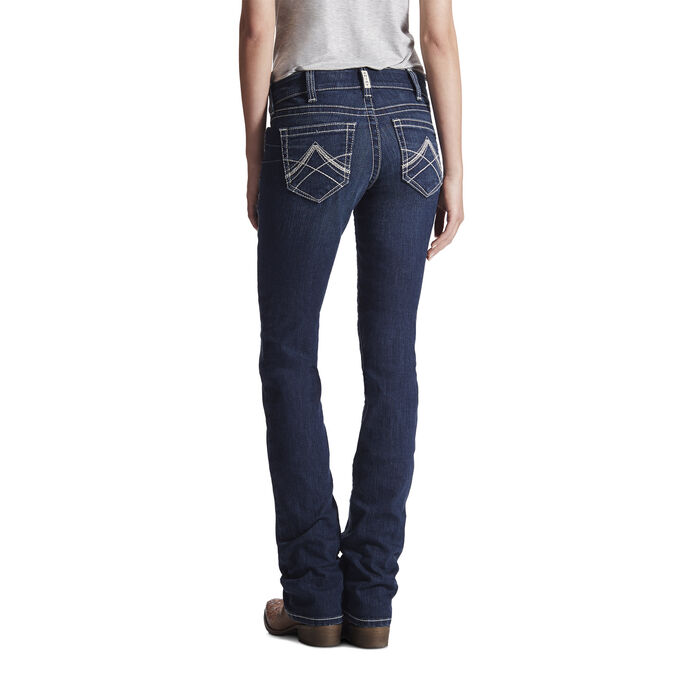 R.E.A.L. Mid Rise Icon Stackable Straight Leg Jean