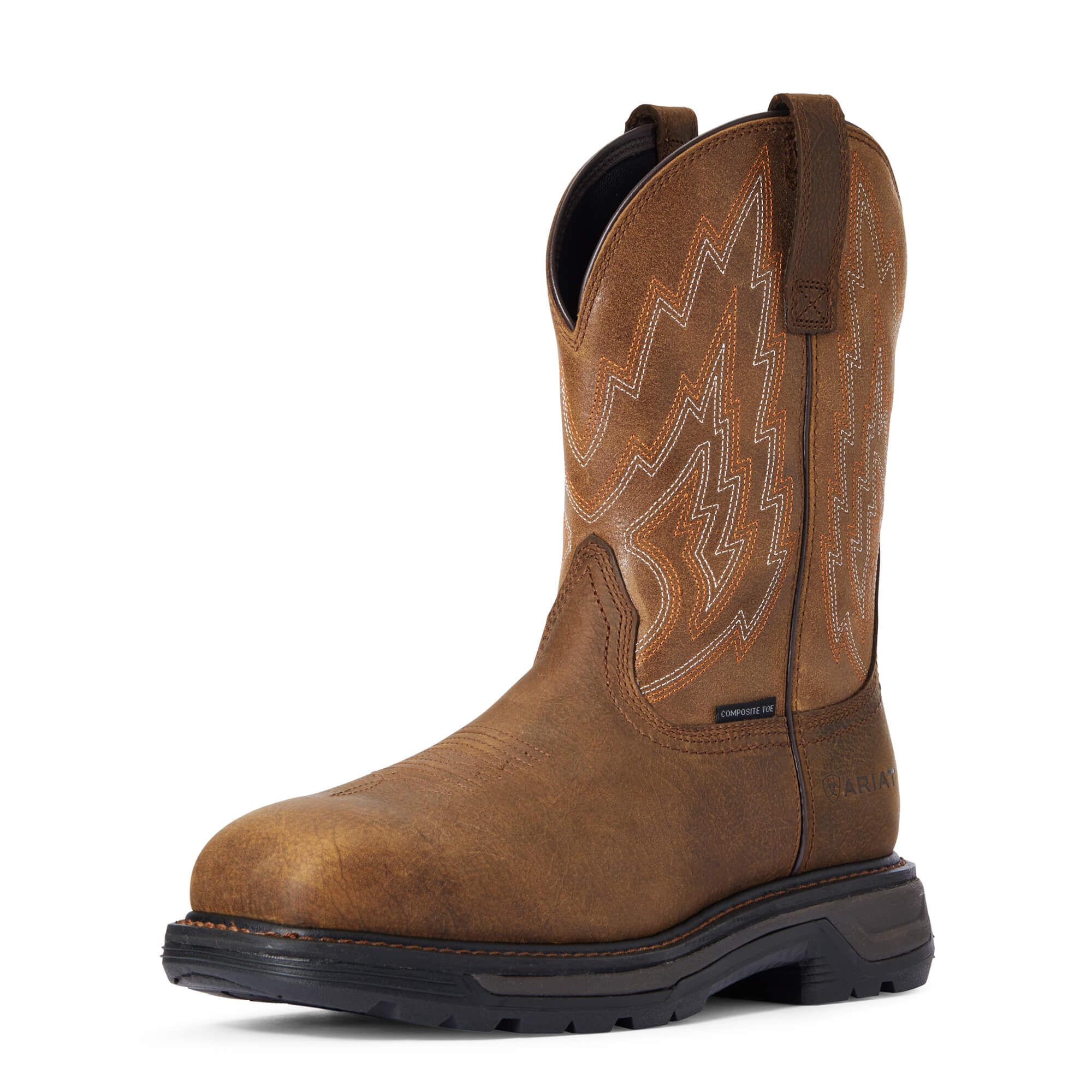 Men's Cowboy Work Boots - Western Work