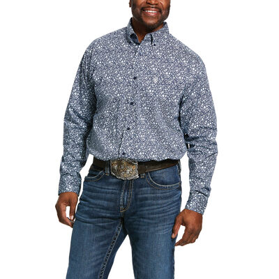Nellings Print Classic Fit Shirt