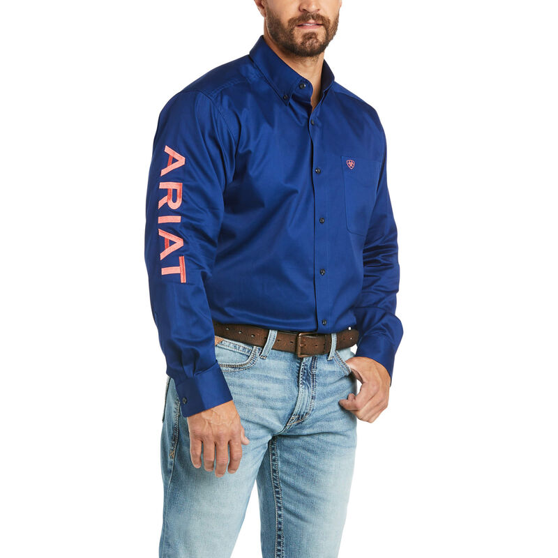 Team Logo Twill Classic Fit Shirt