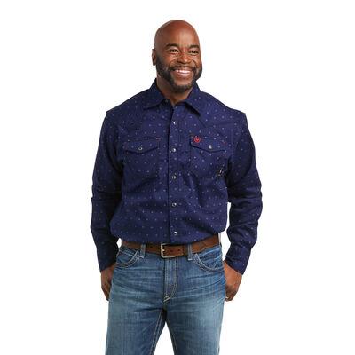 FR Dunham Retro Fit Snap Work Shirt