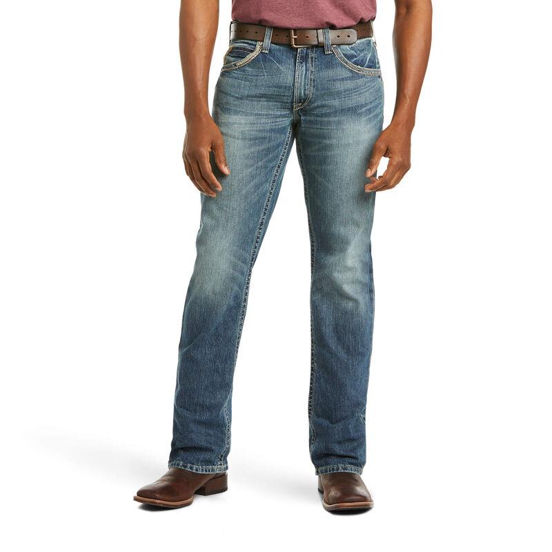 Ariat Men's M5 Slim Gambler Stackable Straight Leg Jeans