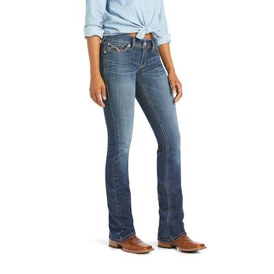 R.E.A.L. Mid Rise Cynthia Boot Cut Jean