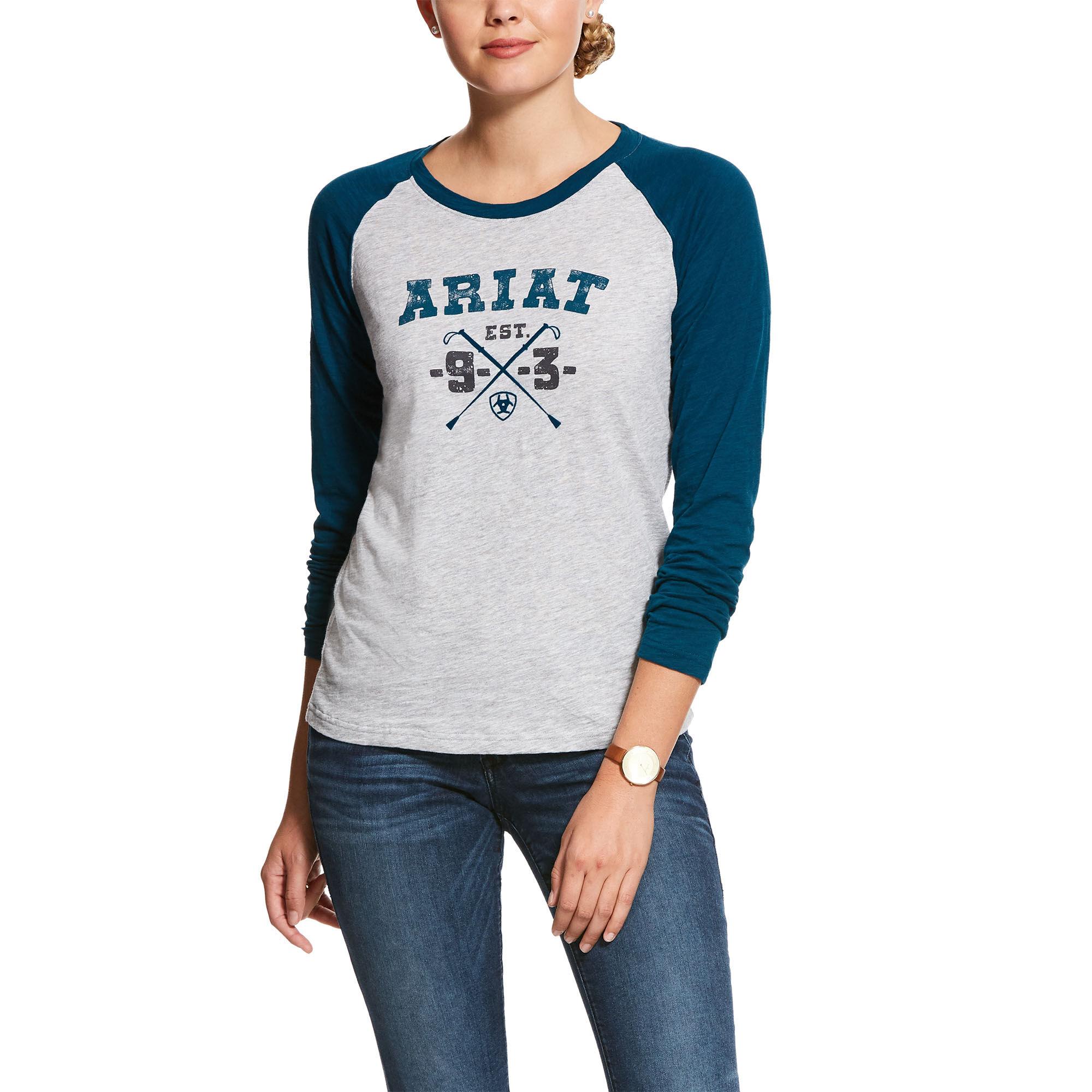 Ariat Girls Logo Tee