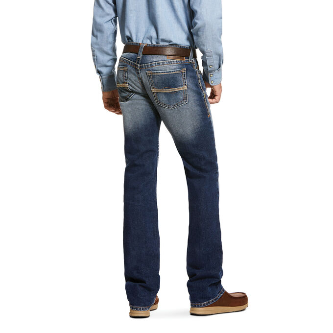 M7 Rocker Stretch Knox Stackable Straight Leg Jean