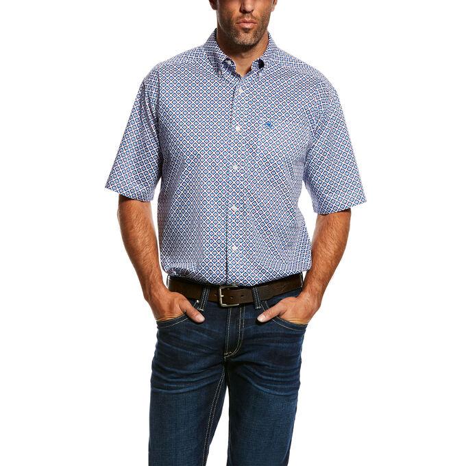 Phoenix Print Stretch Shirt