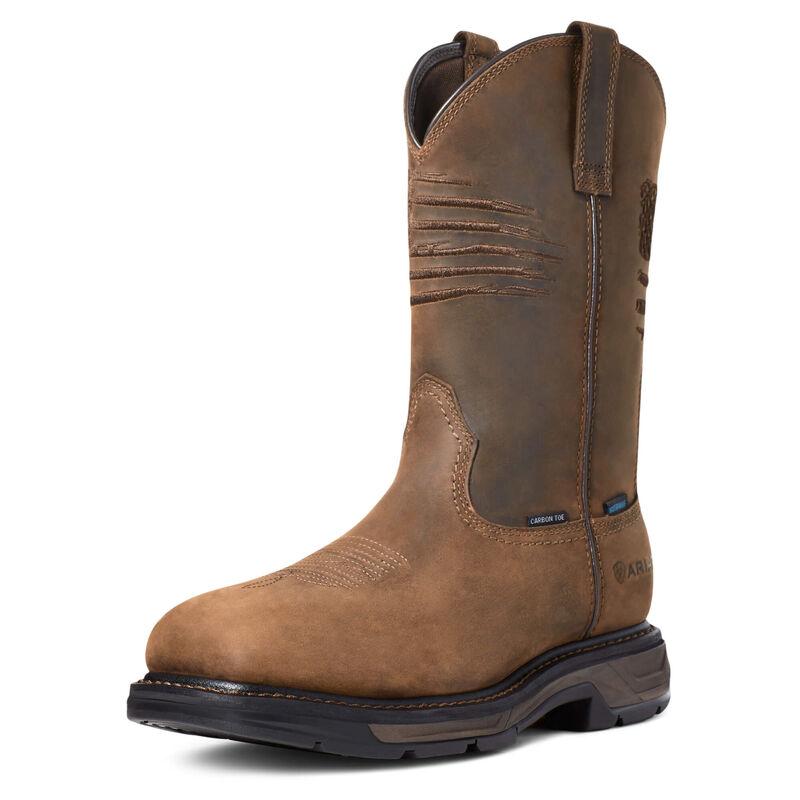 WorkHog XT Patriot Waterproof Carbon Toe Work Boot