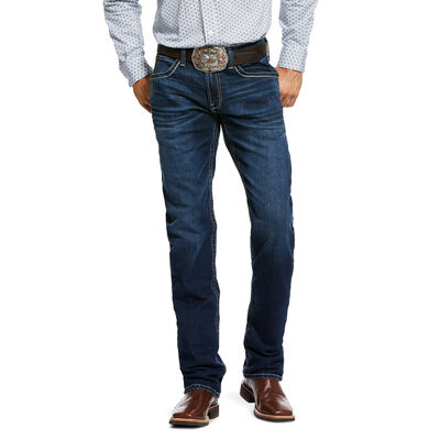 M4 Low Rise Stretch Hunter Stackable Straight Leg Jean
