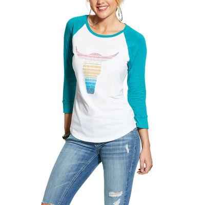 Reverse Sequin Steerhead T-Shirt