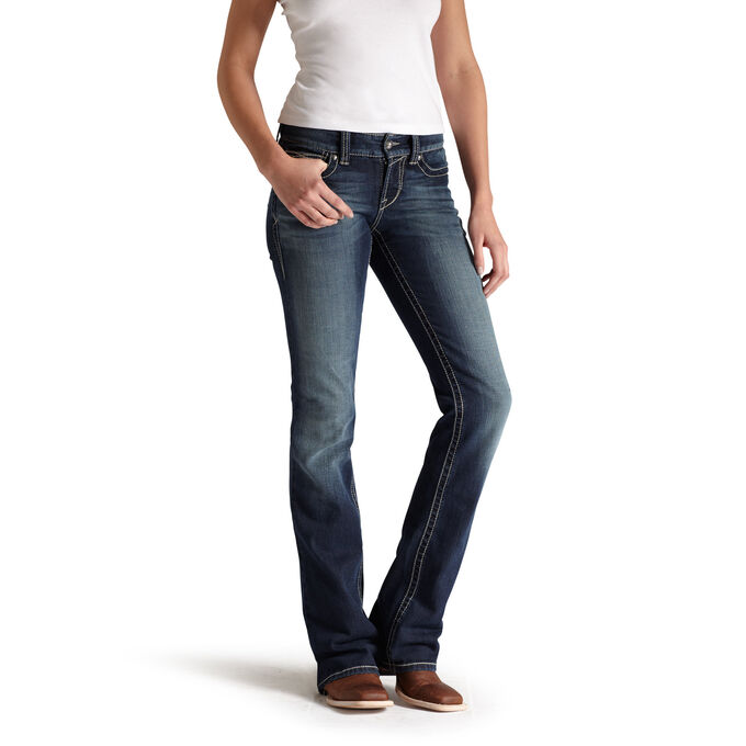 R.E.A.L. Mid Rise Stretch Original Boot Cut Jean