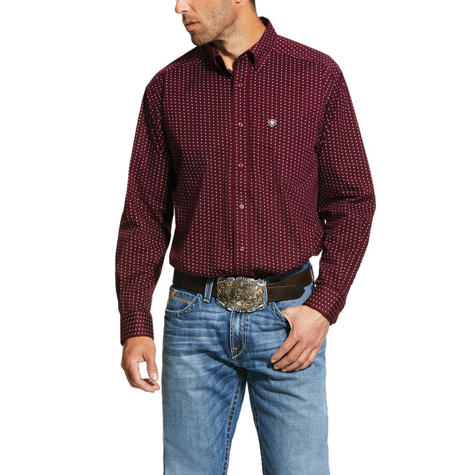 Frostburg Print Classic Fit Shirt