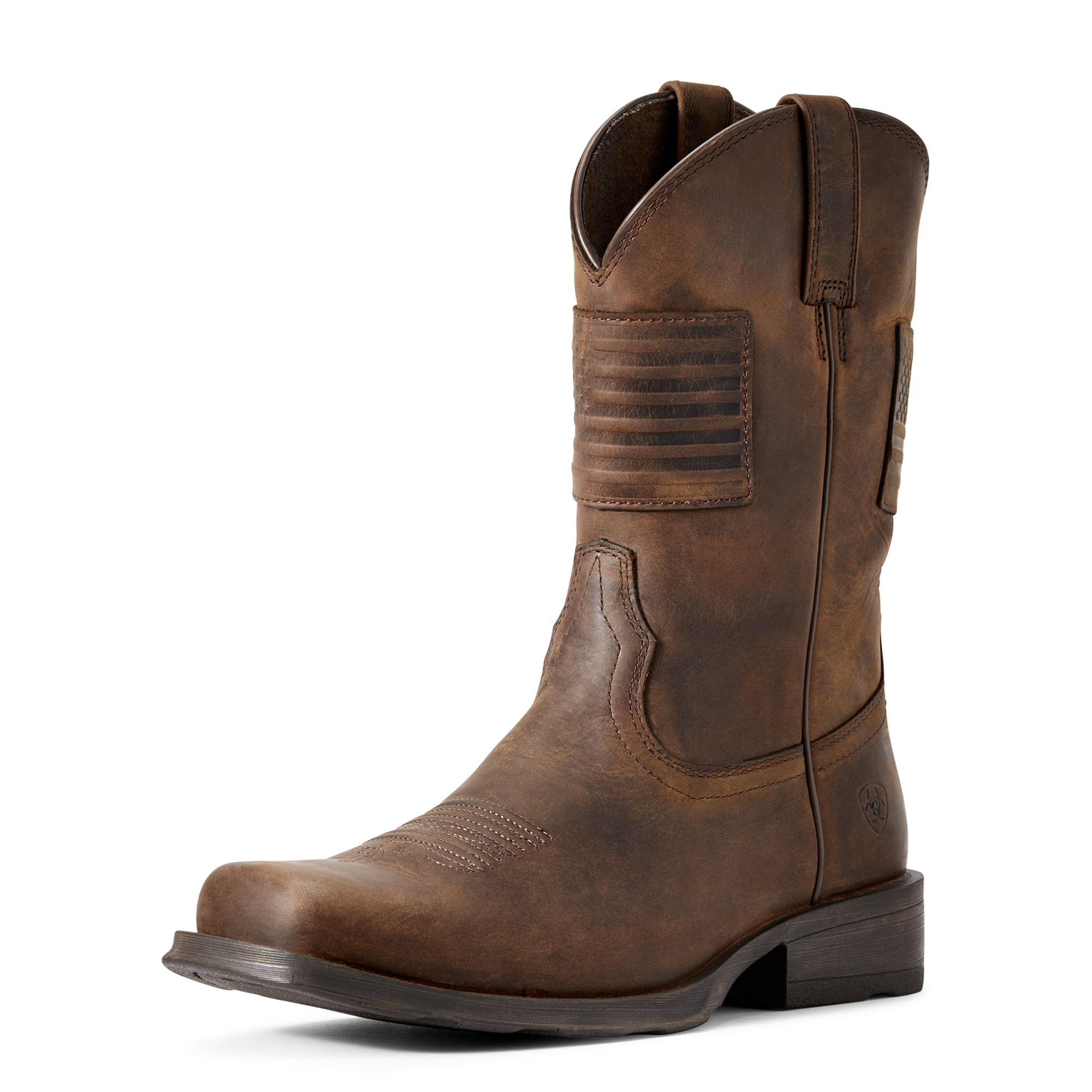 ARIAT Mens Circuit Patriot Western Boot