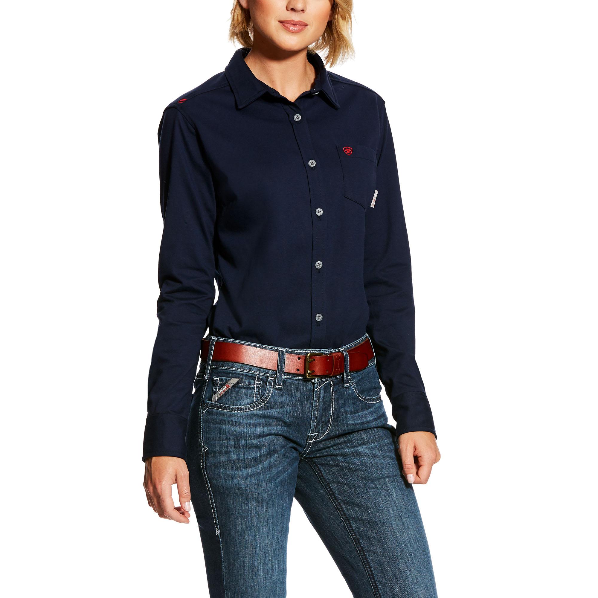 Womens Flame Resistant Pants Denim