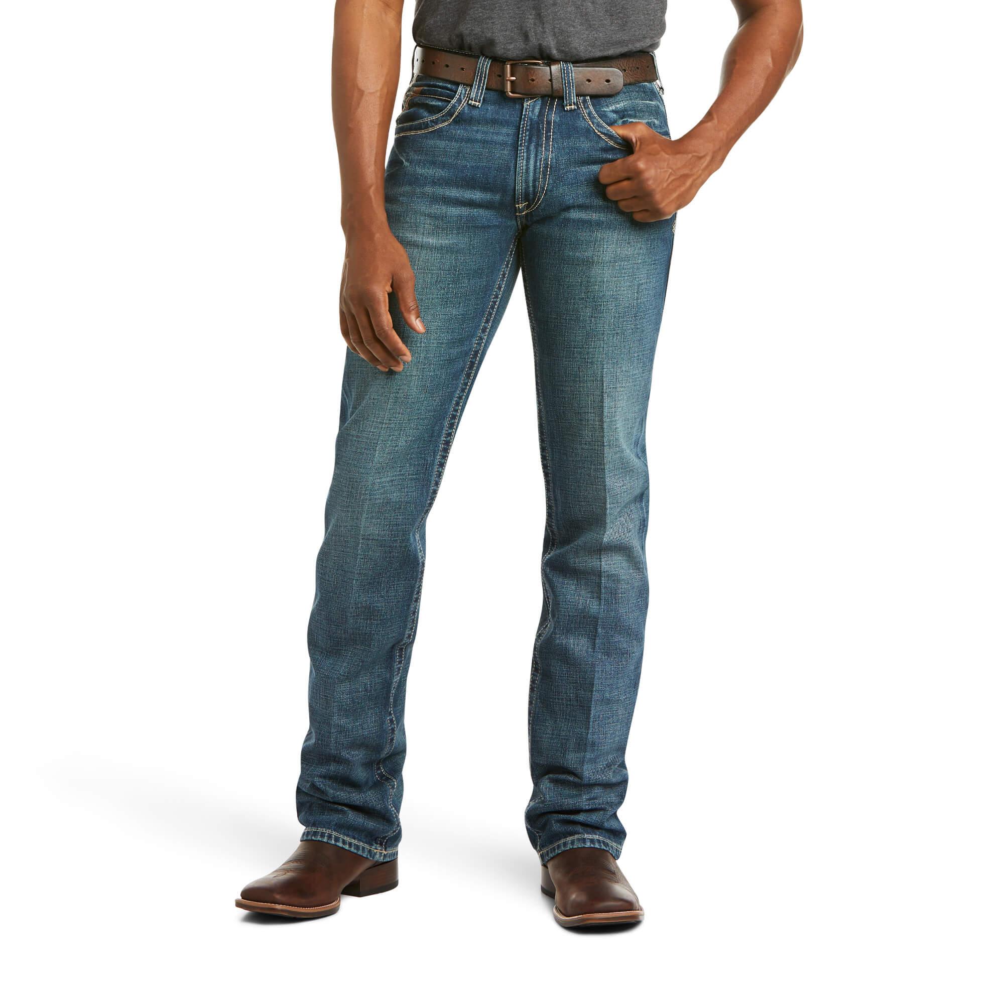 Ariat® Men/'s M5 Low Rise Gambler Slim Fit Straight Leg Jeans 10012703